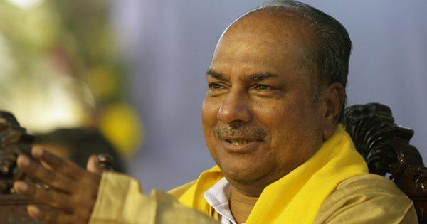 कांग्रेस का लक्ष्य प्रधानमंत्री नरेंद्र मोदी को सत्ता से बाहर करना है : एके एंटोनी