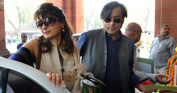 Sunanda Pushkar death:  Case moved to special court for lawmakers after Shashi Tharoor is charged