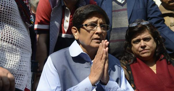 Puducherry: Congress leaders seek CBI probe into charges against Lt Governor Kiran Bedi
