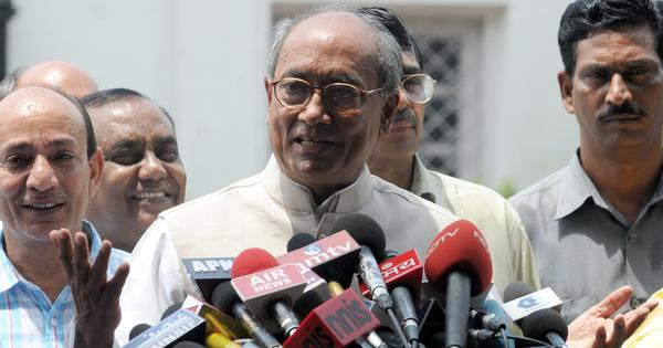 Congress names Digvijay Singh its coordination committee chief for the Madhya Pradesh elections
