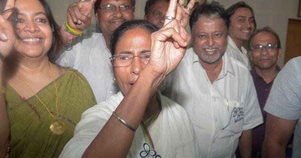 पश्चिम बंगाल : नगर निकायों के चुनाव में भी तृणमूल का जलवा बरकरार