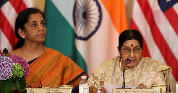 United States has postponed '2+2 dialogue' with India due to 'unavoidable reasons', says MEA