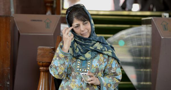 'Article 35A is off limits,' former Jammu and Kashmir CM Mehbooba Mufti tells Centre