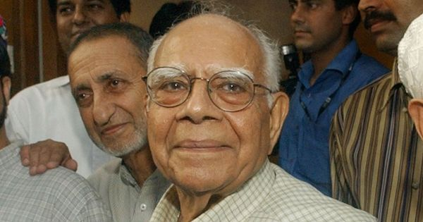You used worse abuses than a mere crook for Arun Jaitley, Ram Jethmalani tells Arvind Kejriwal