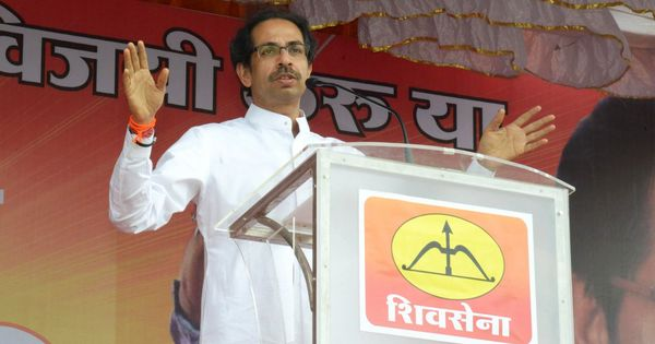 'Achchhe Din are seen only in official advertisements', says Shiv Sena chief Uddhav Thackeray