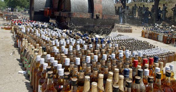Bihar: Officials in Kaimur district claim rats destroyed seized liquor