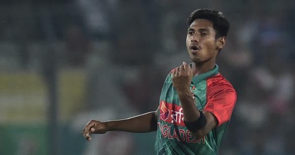 Mustafizur Rahman to miss Bangladesh's Test series against West Indies due to toe injury