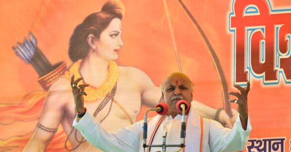 I was warned about a plan to kill me in a police encounter, says VHP leader Pravin Togadia