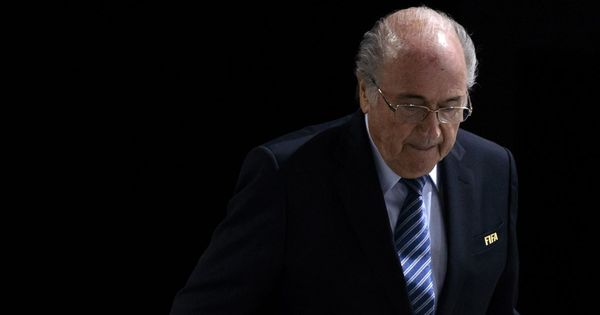 Banned Blatter will travel to Russia for 2018 World Cup on President Putin's invitation