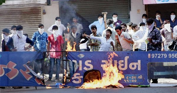 Gujarat government orders inquiry into police action against Patidar protestors in 2015