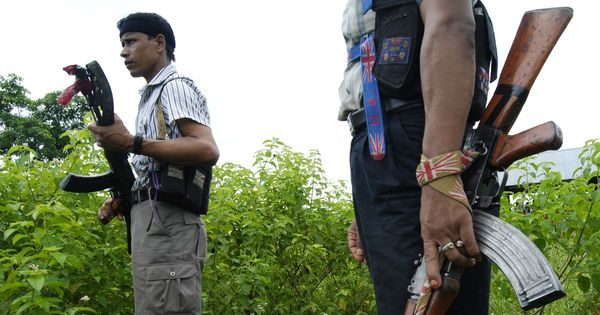 Assam: Local residents protest after Ulfa (I) militants kill man and his son in Tinsukia