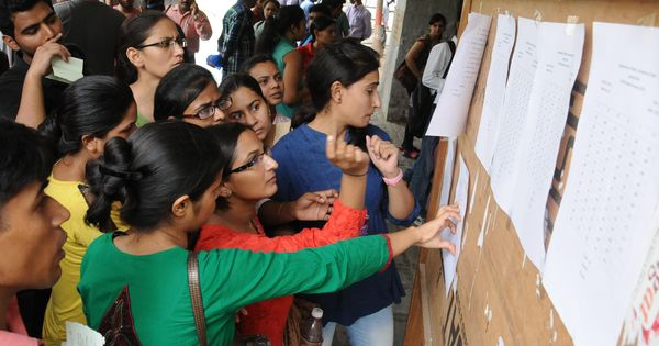 In DU's first cut-off list for undergraduate courses, 100% for three subjects in Lady Shri Ram