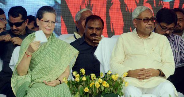 Sonia Gandhi, Nitish Kumar meet to discuss ways to unite Opposition against NDA