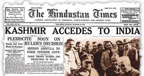 History files: Just how close did Jammu & Kashmir come to a break-up in the 1950s?
