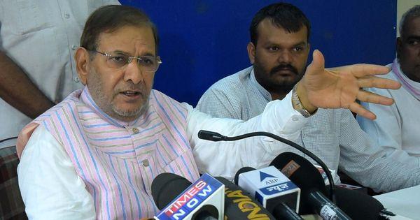 गुजरात चुनाव : शरद यादव ने 'ऑटो रिक्शा' चुनाव चिह्न के साथ अपने उम्मीदवार उतारने का ऐलान किया