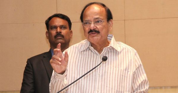 Vice-Presidential election: Venkaiah Naidu files nomination, resigns from Union Cabinet and BJP