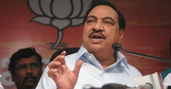 How did pest control firm kill 3,19,400 rats in Mantralaya in 7 days, asks BJP leader Eknath Khadse