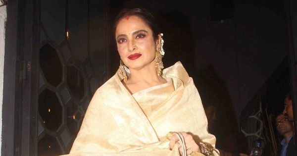 The exact moment when film star Rekha became a villain in vermilion (and it wasn't in 'Silsila')