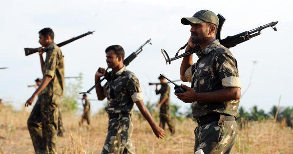 छत्तीसगढ़ : माओवादियों के हमले में सीआरपीएफ के पांच जवान घायल