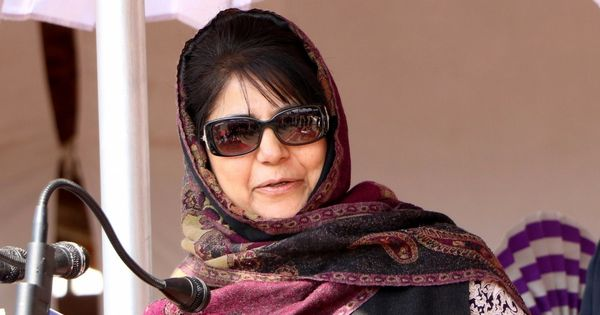 Mehbooba Mufti says she is hopeful the Supreme Court will turn down the petition against Article 35A