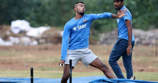 Hardik Pandya has a great chance of playing, says India captain Virat Kohli