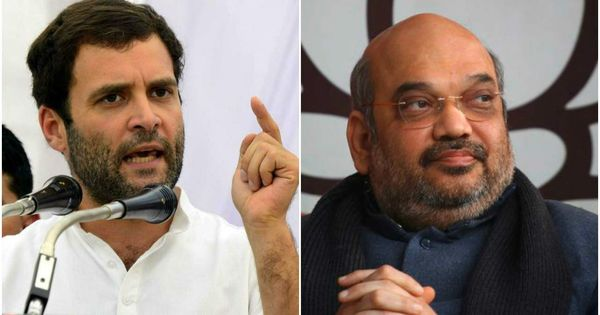 'Defeat of democracy' vs 'opportunist offer': Rahul Gandhi and Amit Shah trade jibes over Karnataka