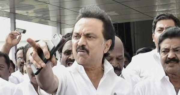 Tamil Nadu: DMK MLAs demand floor test for government, walk out of Assembly on Day 1 of session