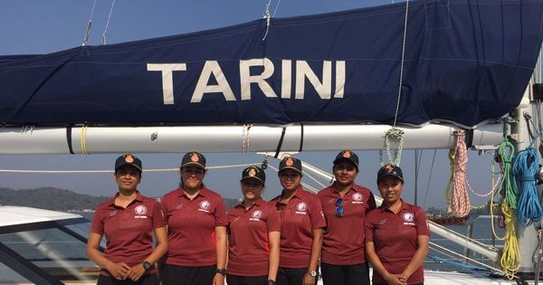Adventures on INSV Tarini: The story of India's first all-woman crew to circumnavigate the world
