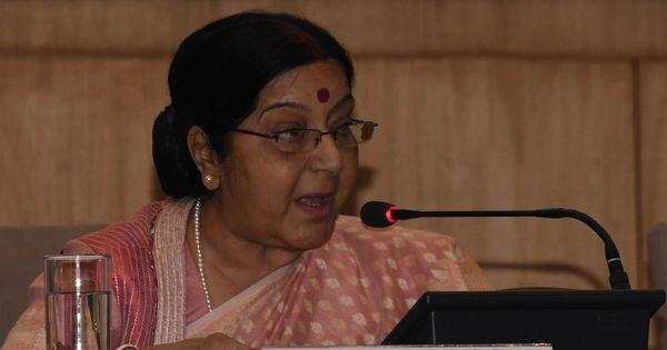 Sushma Swaraj says India asked Pakistan for diplomatic access to Kulbhushan Jadhav: PTI