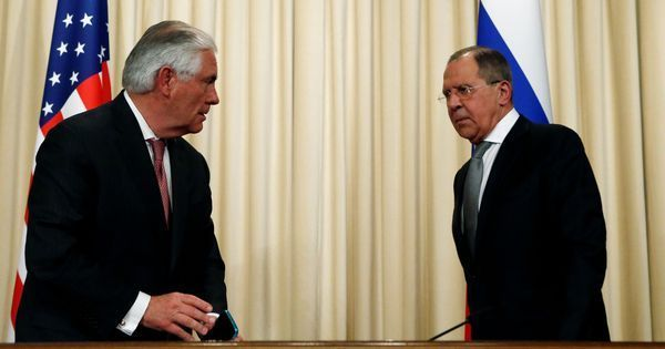 Top diplomats of US, Russia say relations between the two countries is at a new low