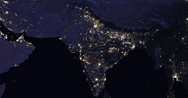 In photos: Nasa releases stunning images of Earth's night lights, including in India