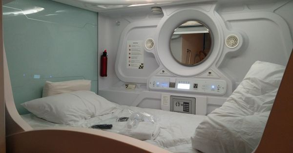 A night at India's first capsule hotel shows that Mumbai's space crunch is now a hospitality fad