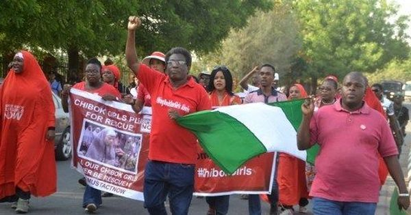 Nigeria: Activists protest as 200 schoolgirls  captured by Boko Haram in 2014 are yet to return