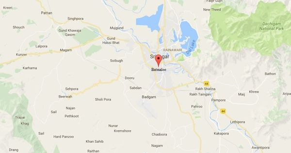 Srinagar: Policeman killed, four injured in gunfight with suspected militants in Batmaloo area