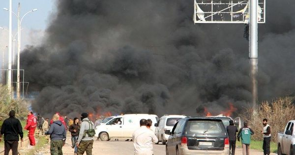 Syria: At least 112 killed as car bomb destroys buses that were evacuating citizens
