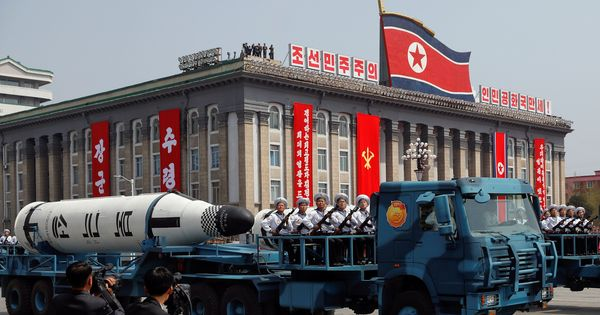 North Korea missile launch ended in failure, says Pentagon