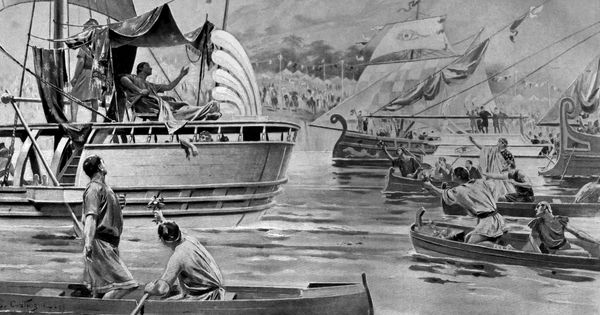 This historical novel goes back to Alexander's invasion of Bharat