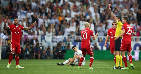 'When Real Madrid got scared, referee began his show': Arturo Vidal after controversial send-off