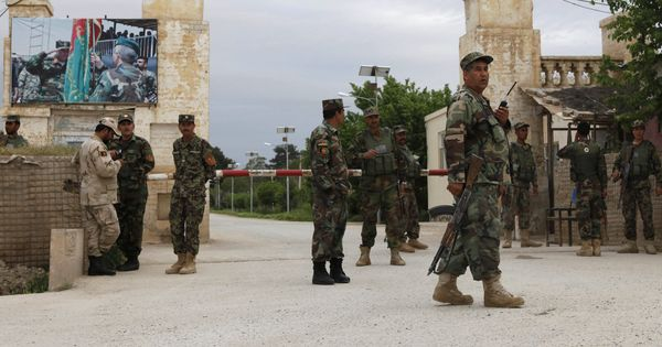 Toll in Taliban attack near Afghan military base rises to 140, one militant detained