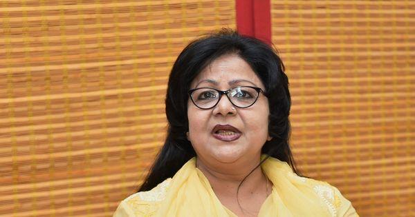 कांग्रेस से निष्कासित बरखा शुक्ला सिंह भाजपा में शामिल