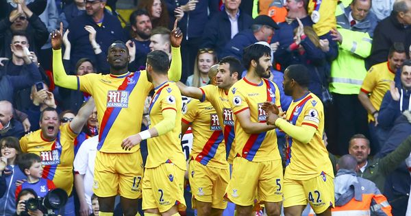 Liverpool old-boy Christian Benteke's brace gives Crystal Palace crucial win at Anfield