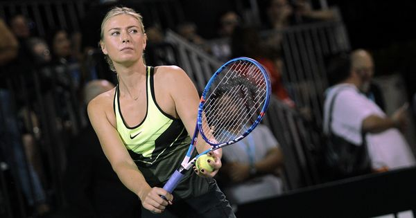 A new rivalry is shaping up between Maria Sharapova and her detractors as she nears her comeback
