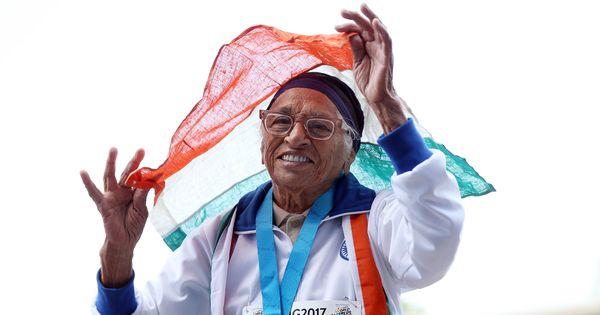 Man Kaur, centenarian sprinter who won 100m event at World Masters Games, dies at 105
