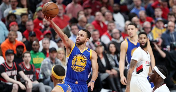 NBA Playoffs roundup: Dominant Warriors sweep Blazers, Raptors take lead, Hawks draw level