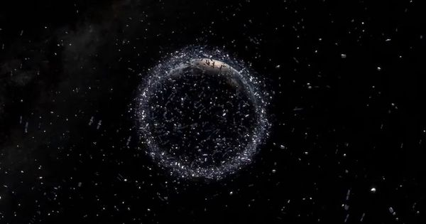 Watch: This is how man-made junk is cluttering Earth's orbit
