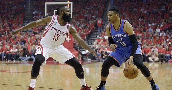NBA Playoffs: James Harden helps Rockets oust Russell Westbrook's Thunder; Spurs, Jazz inch closer