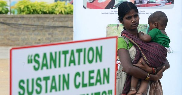 Poor sanitation and unsafe water are killing children in India