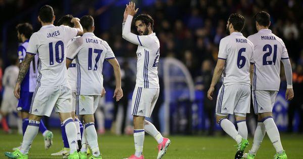 Copa del Rey: Isco, Asesnio, Vinicius Jr strike as Real Madrid rout Melilla 6-1