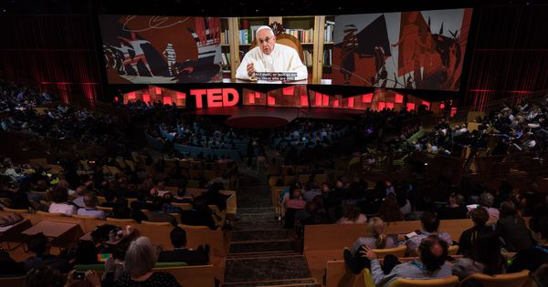 Watch: Pope Francis storms TED Talks with an inclusive speech that talks of...technology?