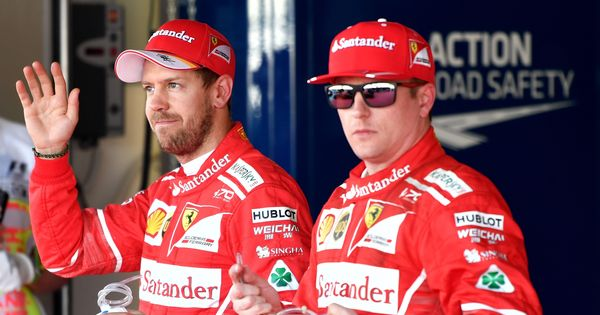 Sebastian Vettel on pole as Ferrari clinch one-two grid position for Russian Grand Prix